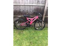 SABRE SPORTZ SUSPENSION MOUNTAIN BIKE, includes gel seat, good condition, fully working £50
