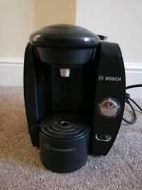 Bosch Tassimo coffee maker with cartridge holder