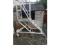 Aluminium working platform for sale