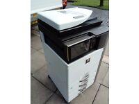 Sharp mx4112n photocopier colour