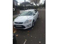 FORD MONDEO WHITE 1.8 DIESEL PCO CAR FOR SALE