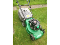 Petrol Lawn Mower/Lawnmower for sale, In Great Working Condition, Serviced. Push Mower for Grass Cut
