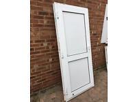 Upvc door solid panels 915 x 2040 opens out