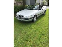SAAB 900 S CONVERTIBLE CAR FOR SALE