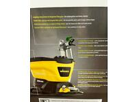 Wagner airless paint spray system unused once for garage brilliant machine power tools
