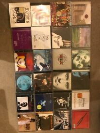 Massive collection of classic rock, heavy metal, Indie and pop CD's, all in excellent condition.
