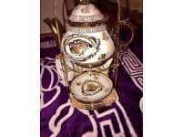 VERSACE COFFEE TEA SETS WITH KETTLE