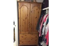 Solid pine wardrope