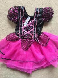 Age 1-2 pink witches costume. Worn once- excellent condition