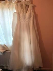 Unworn wedding dress ex display