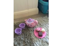 Fisher price laugh & learn tea set