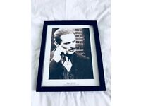 Framed Robert De Niro Picture – Extremely Rare & Collectable!