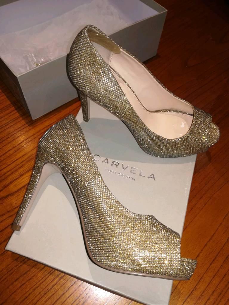 9f706c1db1b Carvela Kurt Geiger Peep Toe High Heels Shoes