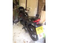 lexmoto xtr 125cc engine excellent learners bike, priced low to sell