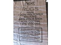 Next Rug - Reduced for quick sale