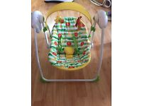 Swinging baby chair (Mothercare)