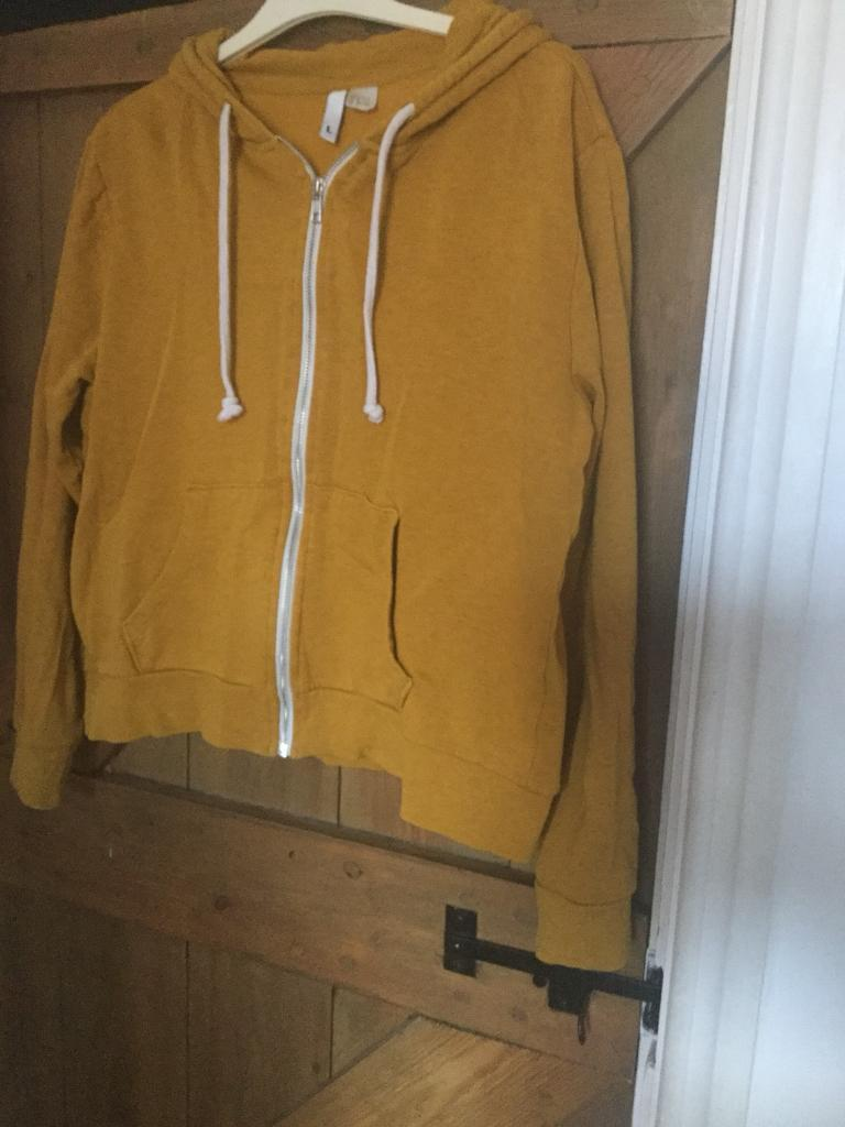 0e8888ca57f9 H&M ladies hoodies yellow mustard size L   in York, North Yorkshire ...