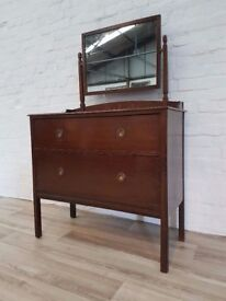 1930's Oak Dresser (DELIVERY AVAILABLE)