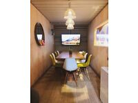 Chic Office Space/ Studio Shipping Container