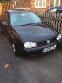 Volkswagen Golf 1.6 Petrol Spares or Repairs