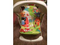 Fisher price rainforest swing chair