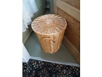 Wicker Laundry Basket –Very good condition