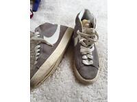 Nike Suede Blazer Grey Size 5