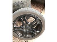 """Subaru 17"""" wheels and Tyres"""