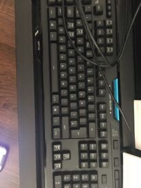 Logitech g910 gaming keyboard