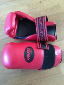 Farabi Semi-contact (Point) gloves (Size: L)