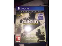 COD IW with COD 4