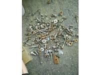 Renault laguna engine gearbox head wheel injectors screws