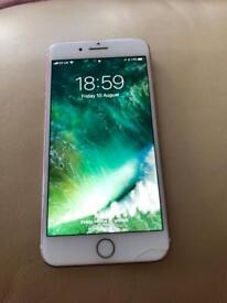 Apple iPhone 7 Plus 256gb unlocked rose gold