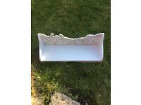 Vertbaudet Animal Shape Shelf, 60cm Length, White, Excellent Condition!