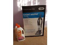 Brand New Vax carpet cleaner with floor cleaner
