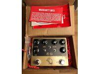 JHS Keeley Steak & Eggs Morning Glory Overdrive & Compressor Guitar Pedal