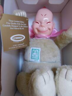 NEW old stock HORSMAN BILLIKEN 1909 Replica Doll 30cm boxed/tags