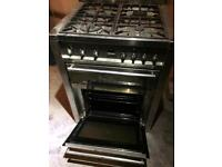 Matching SMEG oven & hood in chrome