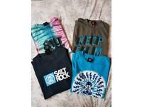 Boys Saltrock t-shirt bundle. Age 9/10