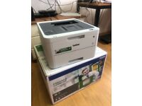 Brother colour laser printer HL-L3210CW including toners (part used)