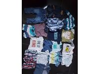 Boys 0-3 3-6months clothes bundle