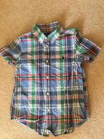 Boys Ralph Lauren short sleeve shirt 6T