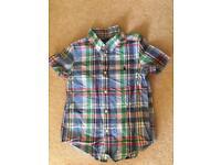 Boys Ralph Lauren short sleeve shirt 6T