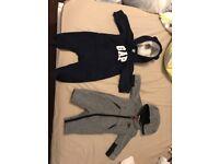 Nike N gap onesie