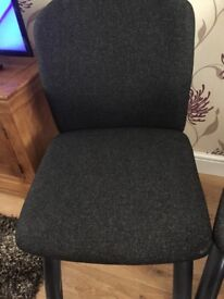 2 x office style chairs