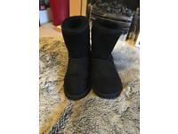 Black Classic Ugg Boots Size 4
