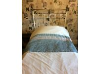 Vintage iron bed