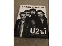 U2 & I photograph book by anton corbijn