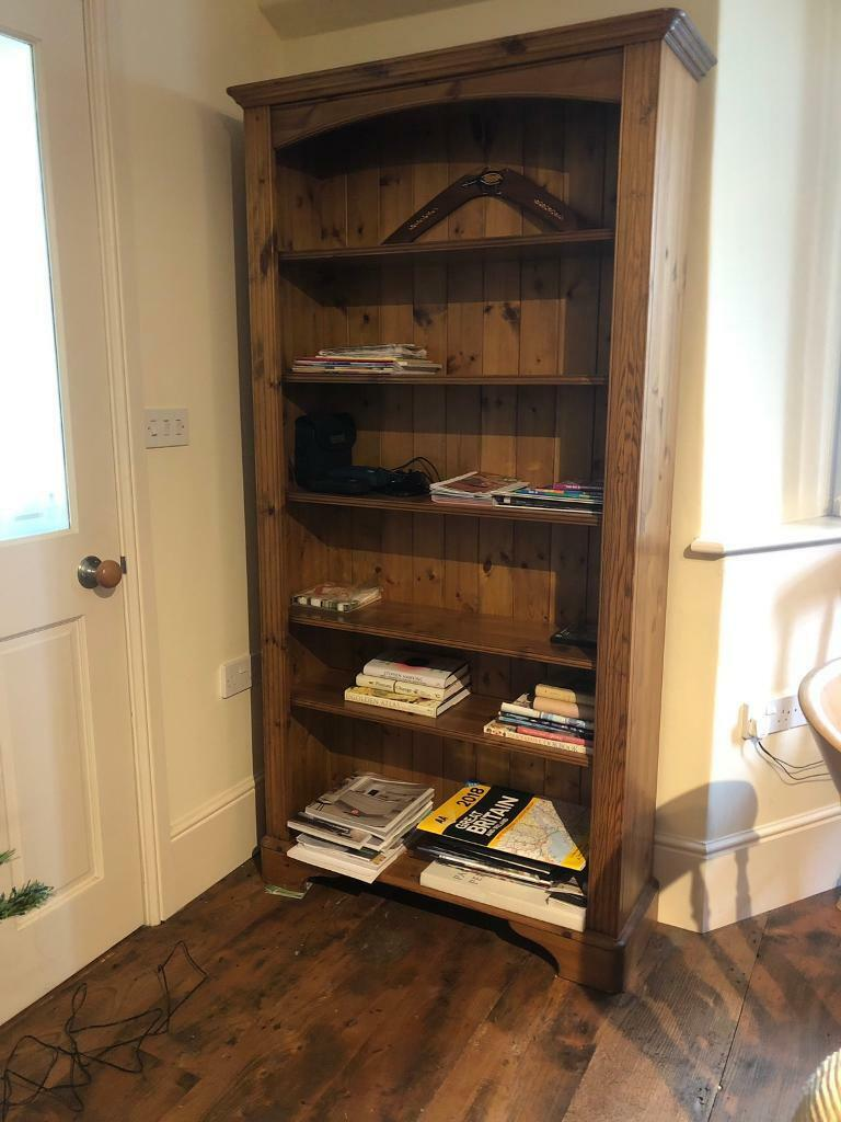 Solid Pine Bookcase Great Diy Project In Mere Wiltshire Gumtree