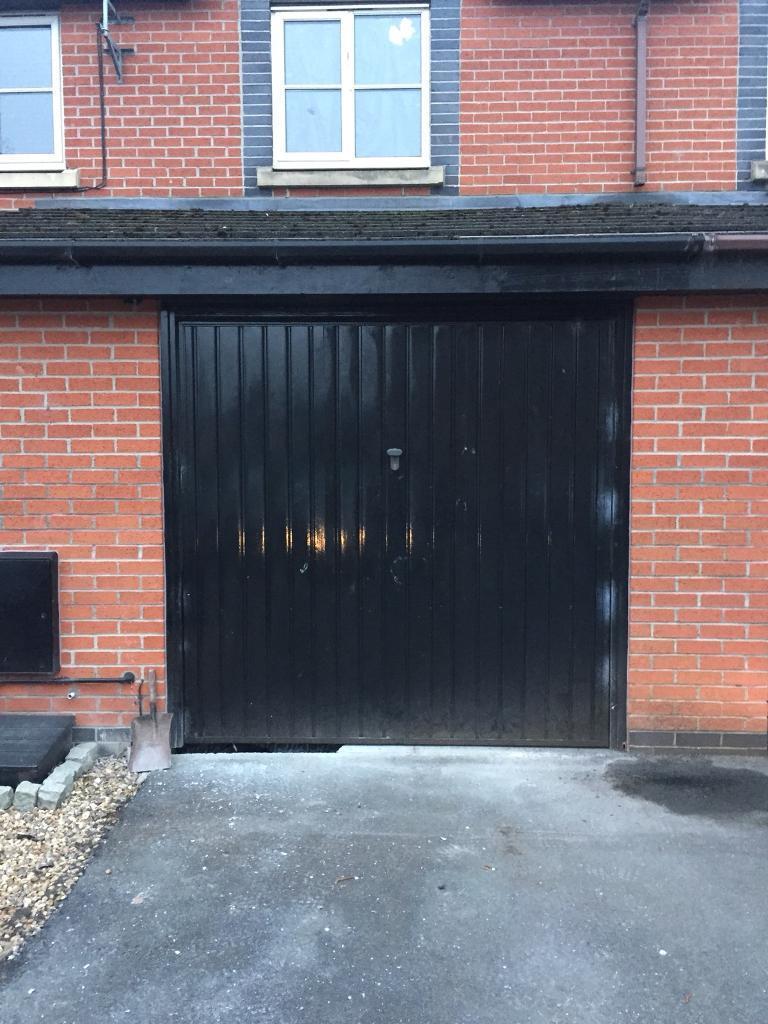 Bargain black garage door up and over in ashton on ribble bargain black garage door up and over rubansaba